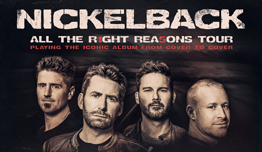 Nickelback: All The Right Reasons Tour
